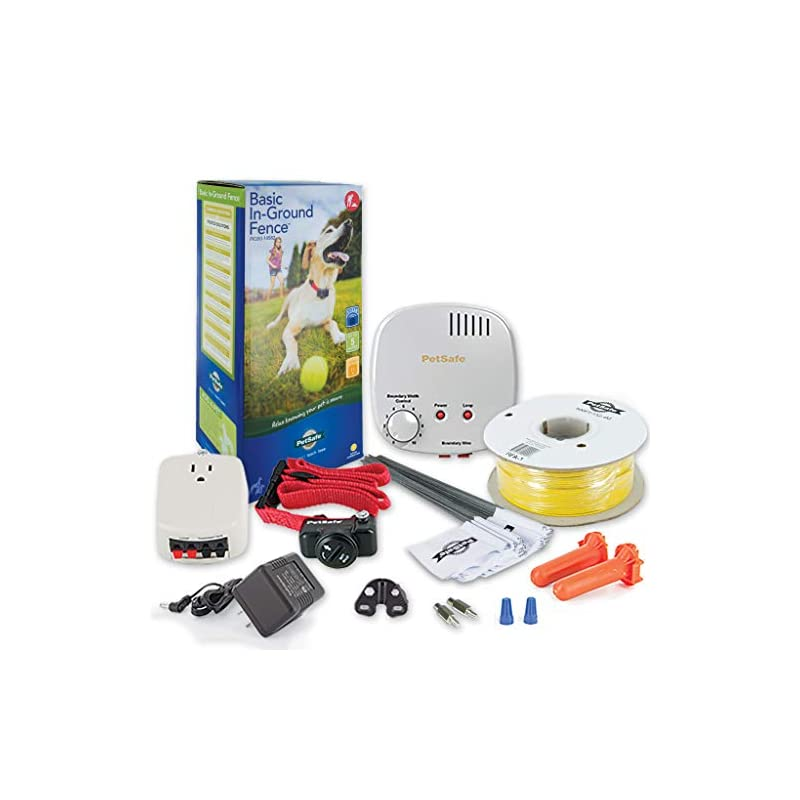 dog supplies online petsafe basic in-ground dog and cat fence - from the parent company of invisible fence brand - underground electric pet fence