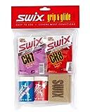 Swix Waxpack Nordic Universal Grip and Glide Kit (Glide Wax, Grip Wax, Cork)