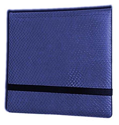 Legion 12 Pocket Binder 3x4 Dragonhide Blue by Legion Supplies