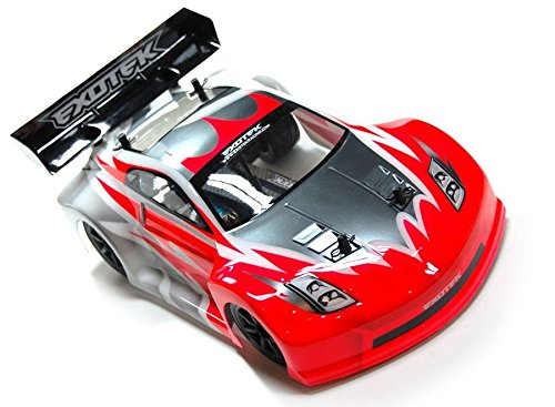 GT-Z Clear Body Set, for Mini APEX Touring Car 1801 ()