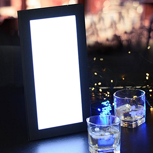 Yescom Backlit Illuminated Leatherette Displayer
