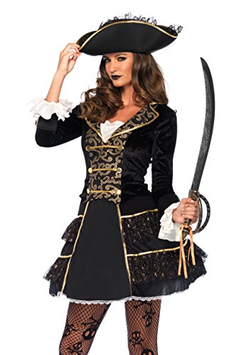 Leg Avenue Women's Dark High Seas Captain Pirate