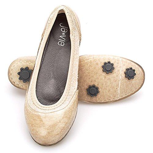 2945611ef239 delicate Ja-vie Comfy Jelly Knit Flats