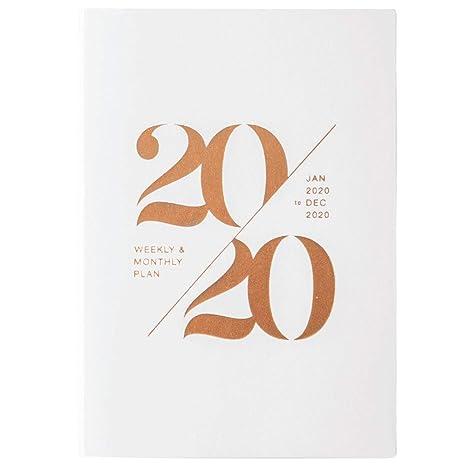 RMF-L Diario Organizador Papelería Cuaderno Organizador 2020 ...