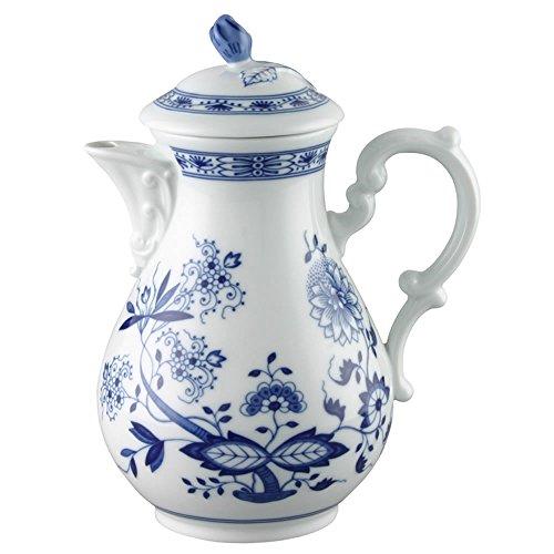 (Hutschenreuther Blue Onion Motif Coffee Pot, Serving Jug, Porcelain, 1.4 L,)