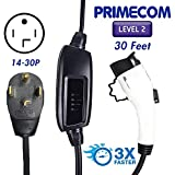 PRIMECOM Level-2 Electric Vehicle Charger 220 Volt 30', 35', 40', and 50' Feet