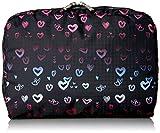 lesportsac classic - LeSportsac Classic Extra Large Rectangular Cosmetic Case, Heartbeat