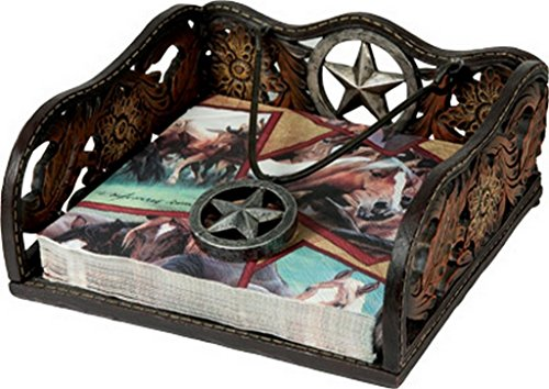 Look Napkins - Western Look Napkin Holder by Rivers Edge 1651