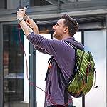 Anker-Cavo-Micro-USB-in-Nylon-18-m-Confezione-da-2-Cavi-Antigroviglio-per-Trasferimento-Dati-e-Ricarica-con-Connettori-Placcati-in-Oro-per-Android-Samsung-HTC-Nokia-Sony-e-Altri
