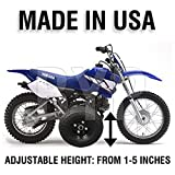BYP_MFG_INC Adjustable Height Yamaha TTR50 TTR 50 Kids Youth Training Wheels ONLY