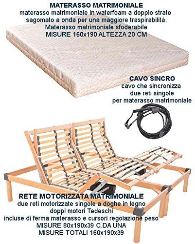 Rete A Doghe Matrimoniale Per Materasso 160x190 Affare Modern Techniques Letti E Materassi Casa, Arredamento E Bricolage