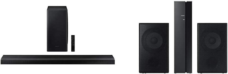 Samsung HW-Q800T/ZA Soundbar with Samsung SWA-9000S Rear Wireless Speaker Kit