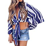 Short Sleeve Women Casual Short Sleeve Women Lace Pocket Print Sleeveless Dark Blue