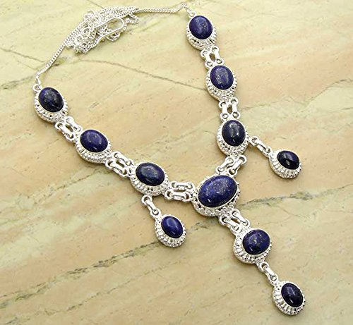 Genuine Lapis Lazuli 925 Silve