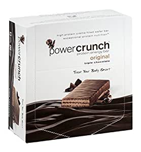 Power Crunch Triple Chocolate, 1.4-Ounce Bar , 12 count