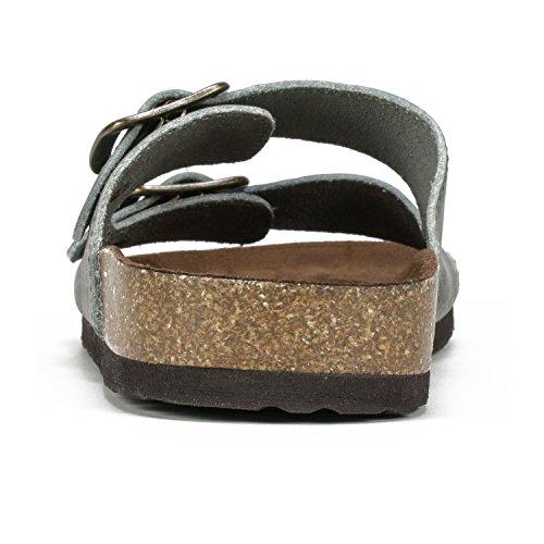 Gladiator Women's Sandal WHITE Blue Light Helga MOUNTAIN FPvv4xnt