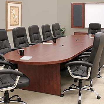 Amazoncom FT FT Large Conference Room Table Cherry - Cherry conference room table