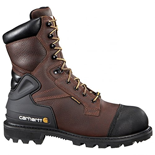 Carhartt Men's CSA 8-inch Wtrprf Insulated Work Boot Steel Safety Toe Cmr8859 Industrial