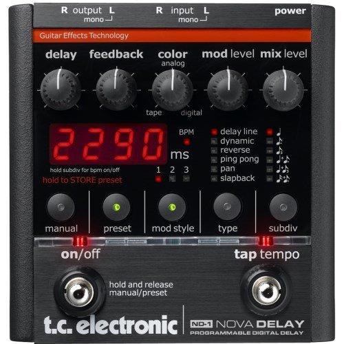 (TC Electronic Nova Delay Guitar Delay Effects Pedal)