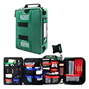 BearHoHo 255PCS First Aid Kit Survival Supplies Bag All-Purpose Emergency Medical Pack – Labeled Compartments for Car…