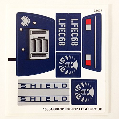 Lego Original Sticker Sheet for Super Heroes Set #6867