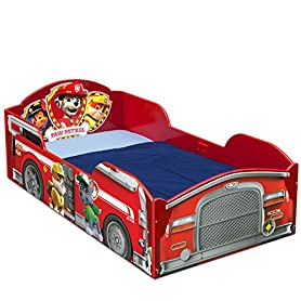 Delta Children Wood Toddler Bed, Nick Jr. PAW Patrol 11