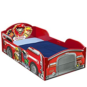 Delta Children Wood Toddler Bed, Nick Jr. PAW Patrol 4