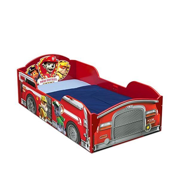 Delta Children Wood Toddler Bed, Nick Jr. PAW Patrol 1