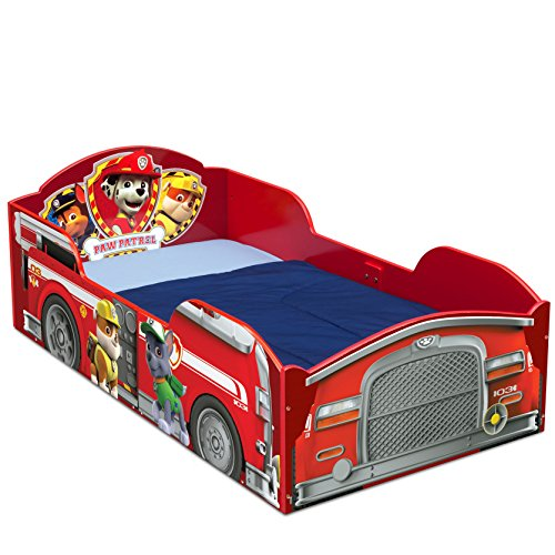 Delta Children Wood Toddler Bed, Nick Jr. PAW ()