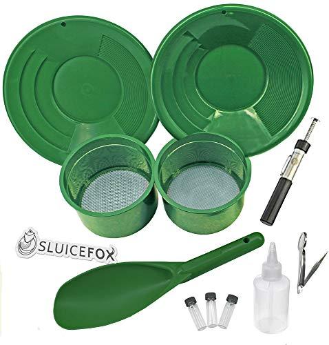 Amazon.com: Sluice Fox - Juego de 11 piezas de sartén de ...