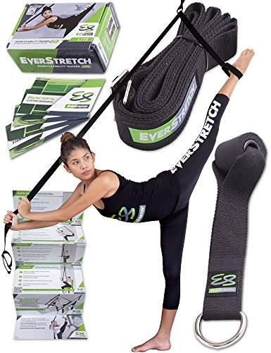 Leg Stretcher: Get More Flexible With The Door Flexibility Trainer LITE by EverStretch: Premium stretching equipment for ballet, dance, MMA, taekwondo & gymnastics. Your own portable stretch machine! - Kicking Target