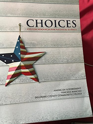 Choices (custom resources for political science)