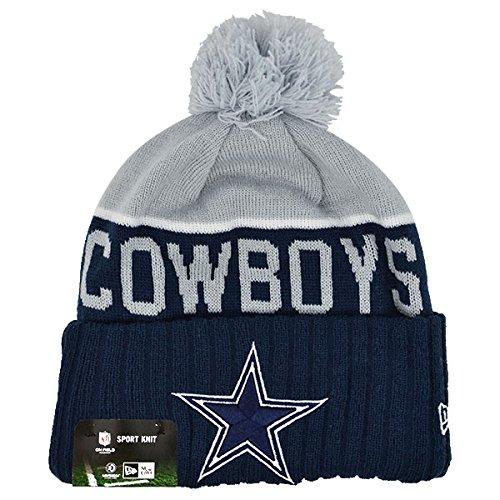 Dallas Cowboys Grey/Navy 2015 Onfield Sport Knit