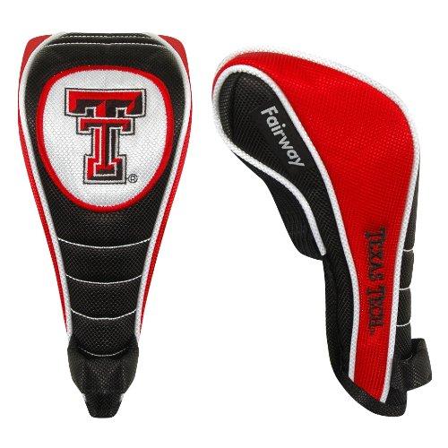 Team Effort Texas Tech Red Raiders Shaft Gripper Fairway Headcover ()