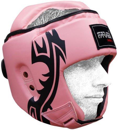 Farabi Boxing MMA Muay Thai Workout Head Guard Pink