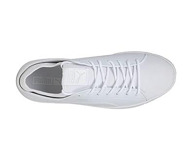 various colors b0170 014fd Puma Men's Basket Classic Sock Lo White Sneakers-12 UK/India ...