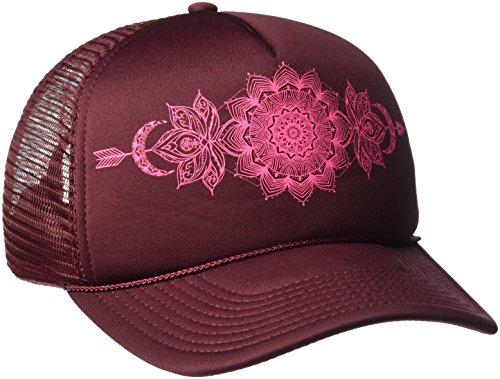 Mesh Screen Print Cap (O'Neill Women's Earth Song Screen Print Trucker Hat, Port-Rus, One Size)