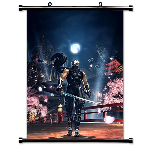 Ninja Gaiden Videogame Fabric Wall Scroll Poster (32
