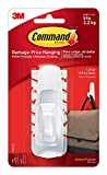 Command Large Utility Hook M41HY, White, 28-Hook