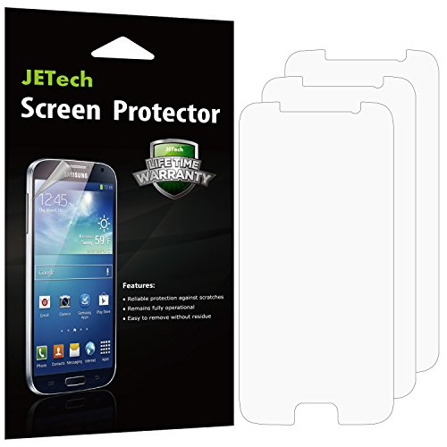 Galaxy Retail Pack (Galaxy S6 Screen Protector, JETech 3-Pack Screen Protector film HD Clear Retail Packaging for Samsung Galaxy S6 - 0854)