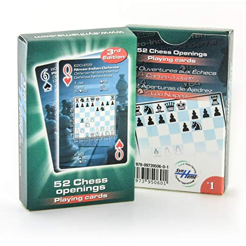 52 Chess Openings Playing Cards (English, Spanish and French Edition) (Chess Playing Cards)