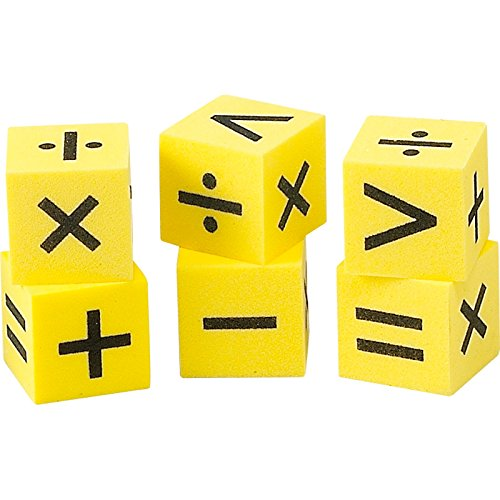 Didax Educational Resources Easy shapes Operation Dice/6 - Easy Operation