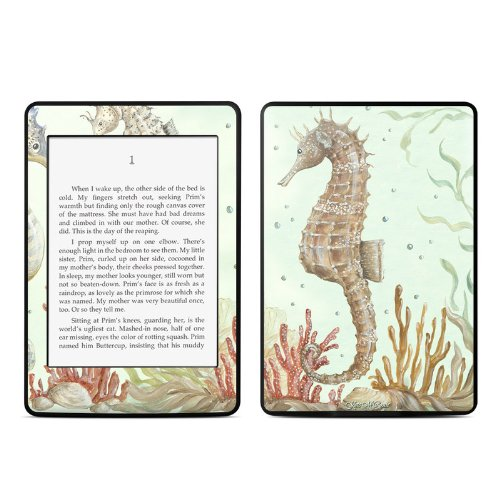 Seahorse Trio Design Protective Decal Skin Sticker for Amazon Kindle Paperwhite eBook Reader (2-point ()