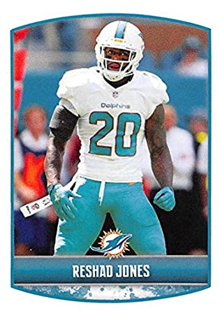 d3fb5845 Amazon.com: 2018 Panini NFL Stickers Collection #44 Reshad Jones ...