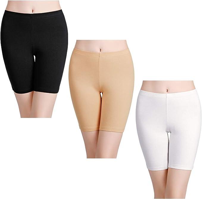 wirarpa Bragas Mujer Leggings Cortos Boxer Algodon Shorts Pantalones Deportivas para Running, Yoga y Ejercicio: Amazon.es: Ropa y accesorios