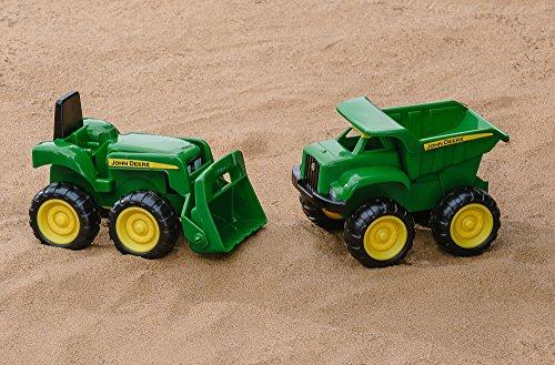 John Deere Sandbox Vehicle 2pk, Truck and Tractor by TOMY (Image #4)