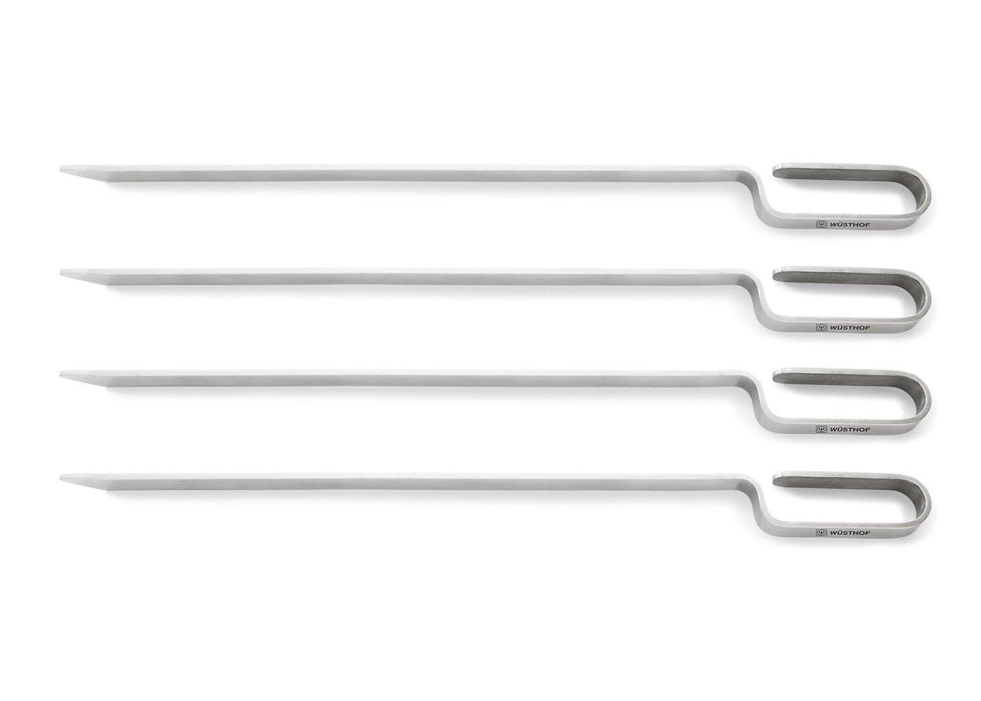 Wusthof Stainless Steel 4 Piece Skewer Set