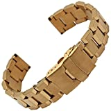 MSTRE BXG3 Stainless Steel Link Wrist Watch Band For Armani/Luminox/Jeep Wrist Watches