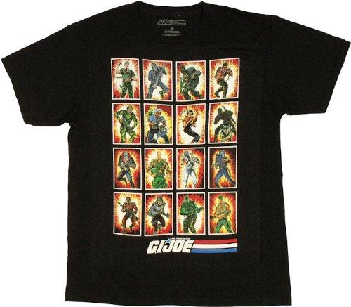 G.I. Joe Full House Men's Slim Fit T-Shirt, Medium - Joe Sheer T-shirt