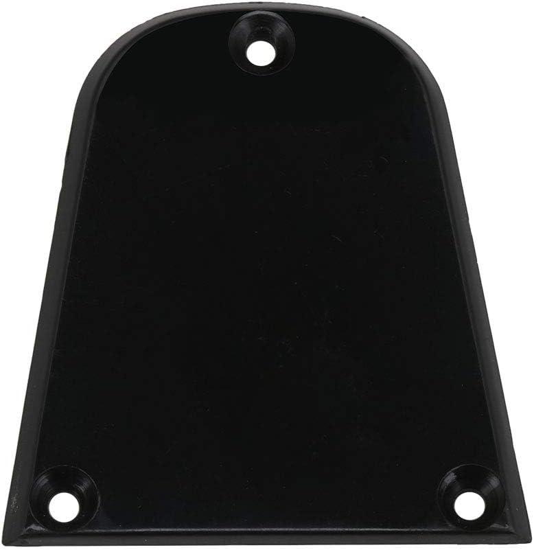 Black Triangle Truss Rod Cover 1-ply 1-screw